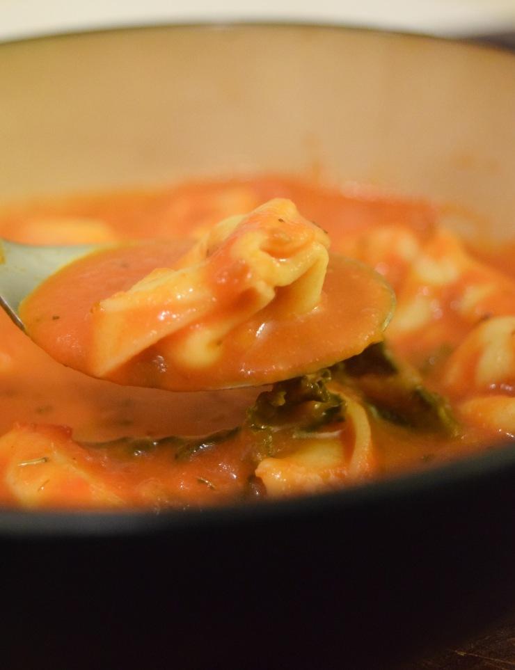 Tortellini Soup Spoon