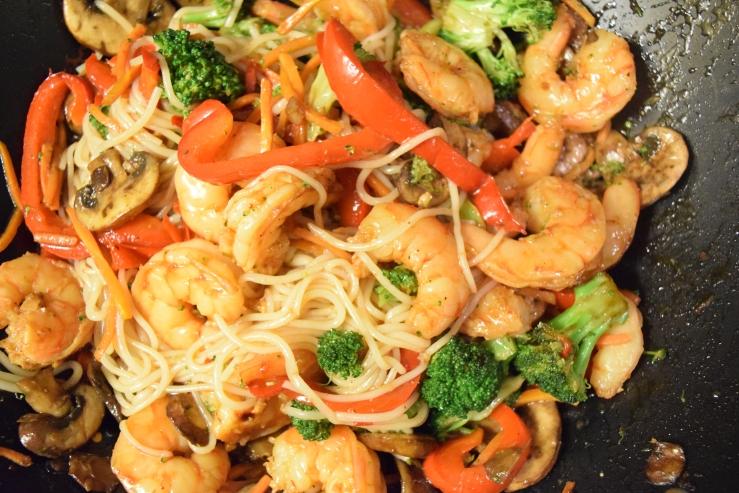 stir fry wok